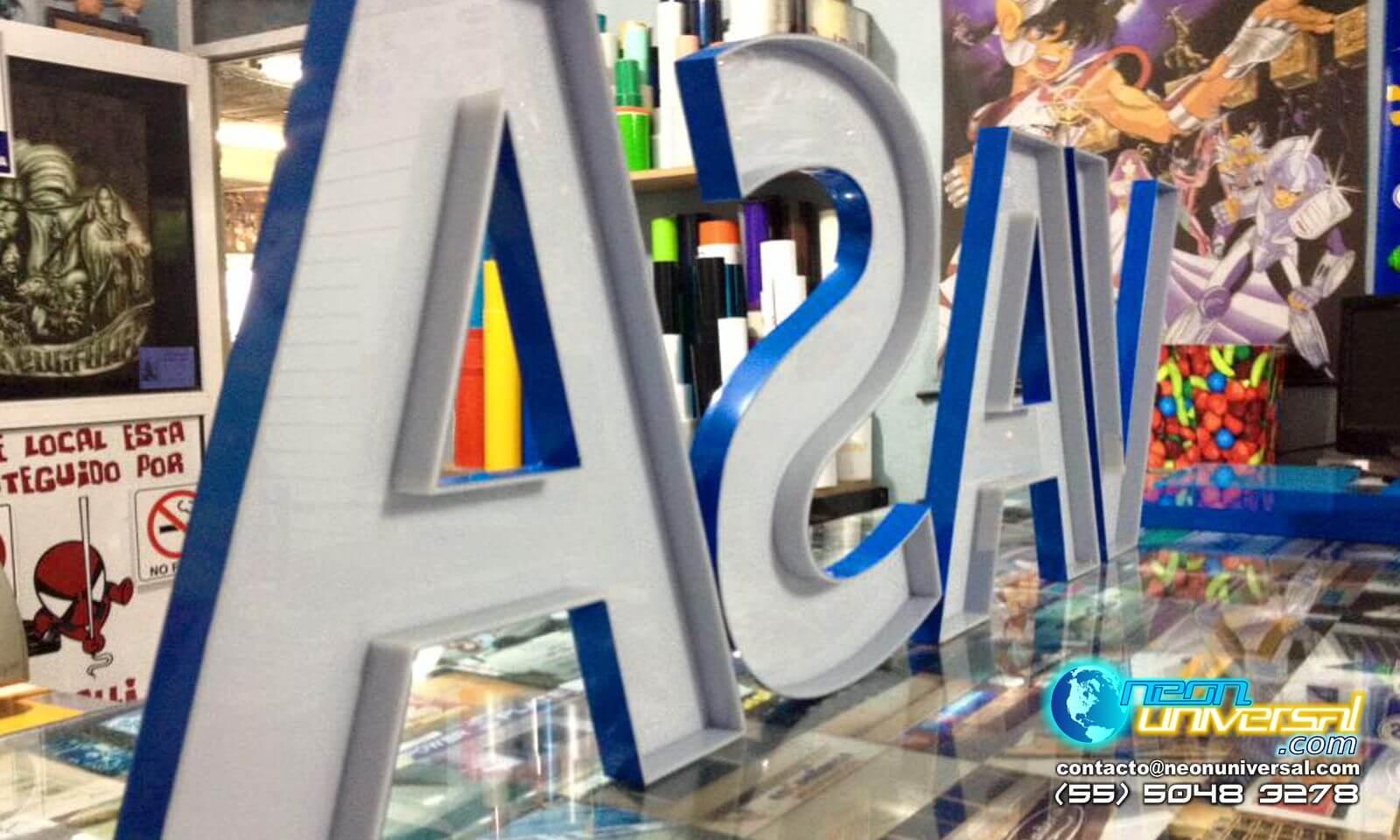 Fabricamos publicidad Logo 3D Vasa.